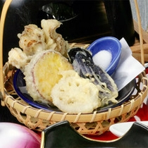天ぷら一例
