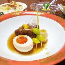 *【料理例/角煮】お客様からご好評頂いている自慢の逸品!口の中でお肉がとろけます♪