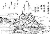 江戸時代の上高地絵地図