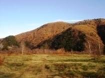 晩秋の一の瀬園地