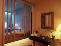 「天空」 唯一の屋上露天風呂付客室