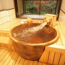 別邸:離れ「しぇふず」客室風呂一例