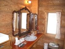 バスルームの洗面