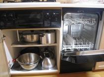 食器洗浄機と鍋類