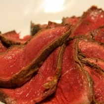 秩父新名物!シカ肉のロースト♪味わって下さい。