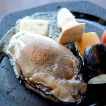 岩ガキのバター焼き(一例)