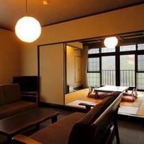 和洋室の一例 ベッドルームがついた和洋室(EVから多少離れた場所にございます)