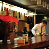 地酒の館では、会津の地酒を常時30〜40種類ご用意しております。