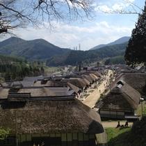 【大内宿】江戸時代の宿場町がそのまま残る 会津一人気の観光スポット!(当館よりお車で約40分)