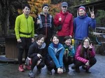 伊豆天城山で行われるトレイルランニングレースの下見での宿泊。ありがとうございました!