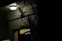 夜のペンション