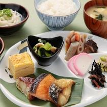 バランスの良い和食は種類も豊富!