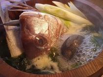 男鹿名物「石焼鍋」