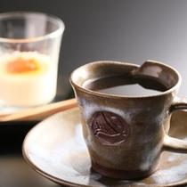 朝食後はコーヒーをどうぞ。