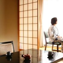 源泉かけ流しの『美白の湯』を愉しんで お部屋でどうぞごゆっくり。