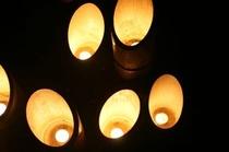 神竹灯自施設点灯2