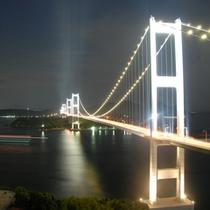 夜のしまなみ海道