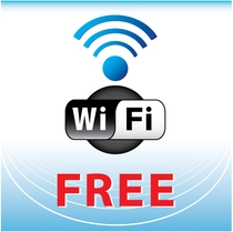 全館Wi-Fi使用可能