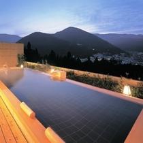 【温泉】花見月の湯 絶景を誇る展望露天風呂