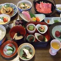 ●冬のご夕食料理(季節によって内容が変わります)