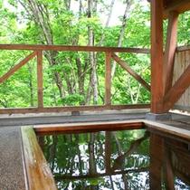 ●木の露天風呂