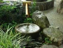 京風石庭「水琴窟」