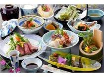 季節の会席料理/料理例