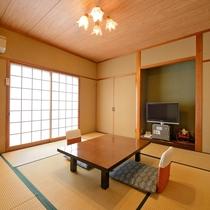 *【お部屋一例】8畳タイプの和室。一人旅やカップル、ご夫婦旅行にお勧めです♪