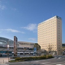 鹿児島中央駅とホテル