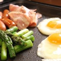 ◆【朝食】炙り焼き(イメージ)