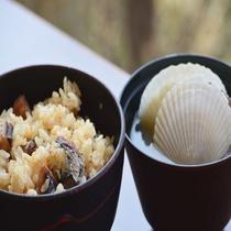 ◆【朝食】『サンマ飯とホタテの味噌汁』