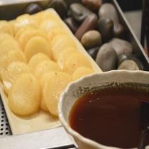 ◆【朝食】『いももち』 北海道民の手軽なファーストフードとして食べられています♪