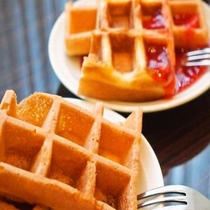 ◆【朝食】『ワッフル』(イメージ)