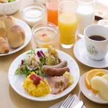 ◆【朝食】和洋海鮮バイキング(洋食一例)