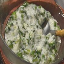 ◆【朝食】『とろろ&オクラ』スタミナ回復にネバネバ食材を是非どうぞ♪
