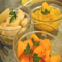 ◆【朝食】『フルーツ各種』