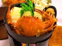 冬の味覚 カニ鍋(季節による)