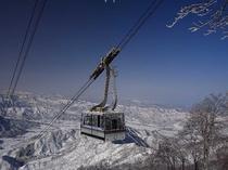八海山ロープウェー(冬)