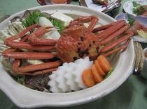 冬プラン 蟹鍋