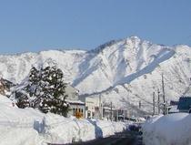 坂戸山冬景色