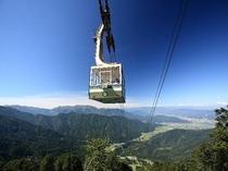 八海山ロープウェー(夏)