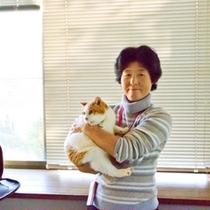 ママさんと猫ちゃん