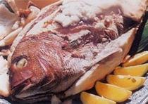 真鯛の塩釜