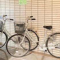 【館内】レンタル自転車をご準備しています!