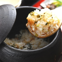 夕食【季節の炊込みご飯】