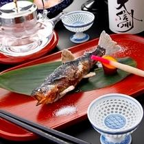 ◆岩魚塩焼き