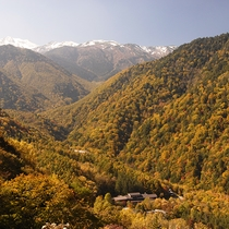 ■秋・静穏の谷に佇む