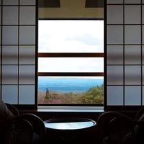 眺望が自慢のお部屋です。