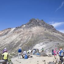 茶臼岳は那須岳とも呼ばれています