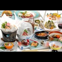 春夏秋冬、季節ごとに異なる食材をいただけるのが和食の愉しみ。日本の豊かな恵みに感謝できる冬御膳です。